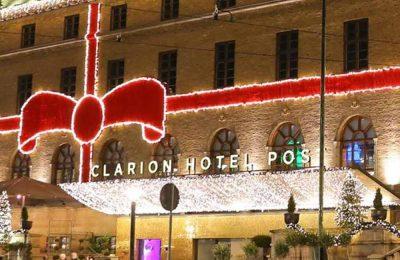Presentkort Övernattning Clarion Hotel Post
